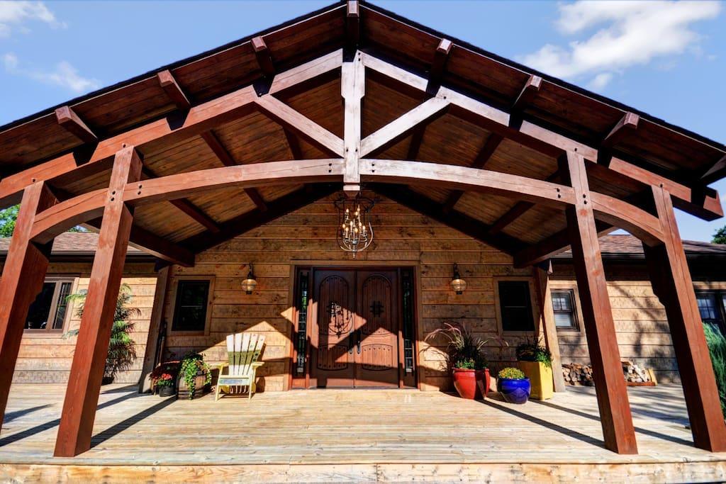 Cooperage Home Entrance