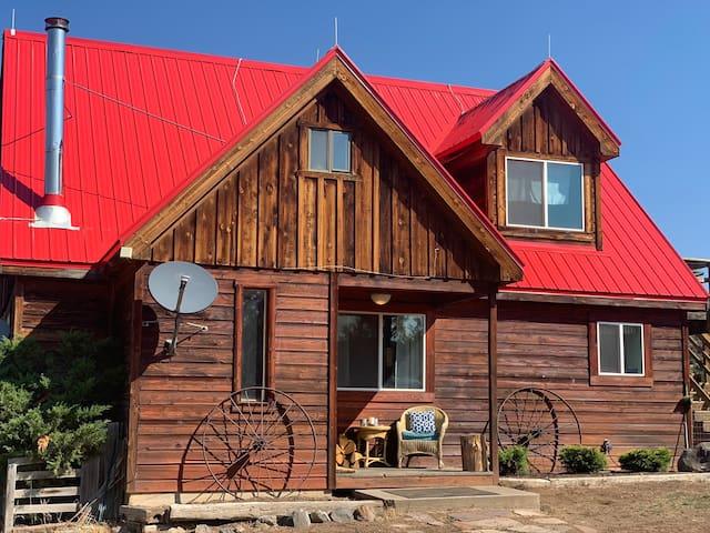 Newly restored  farm house on Cedar Ridge Ranch