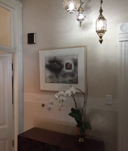 Hayes Valley Victorian Green Room