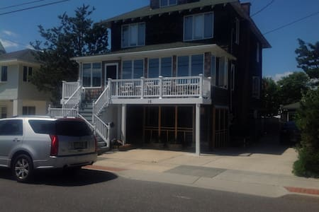 Charming 2 Bdrm Ground Level Apt. Steps to beach! - Seaside Park - Appartement