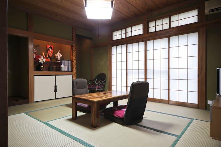 Traditional Tatami Room & Living Room - Katsushika-ku  - Dům