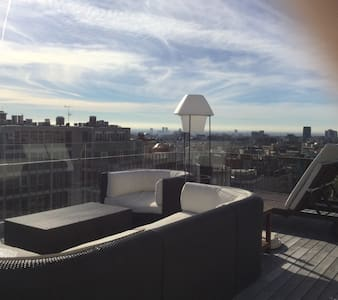 Brand new penthouse with amazing city views - Barcelona