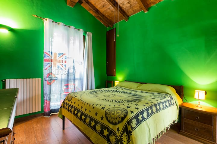 CAMERA DOUBLE ROOM GREEN - Torre d'Isola - House