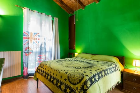 CAMERA DOUBLE ROOM GREEN - Torre d'Isola