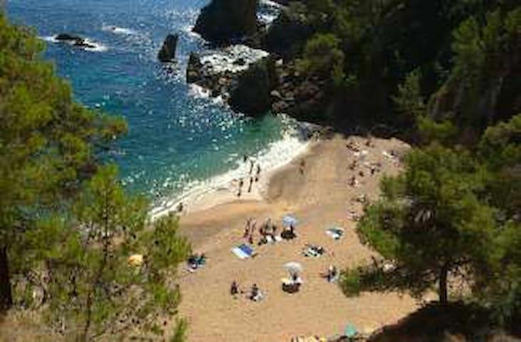 3 mn à pied de la plage del GOLFET - Calella de Palafrugell - Daire