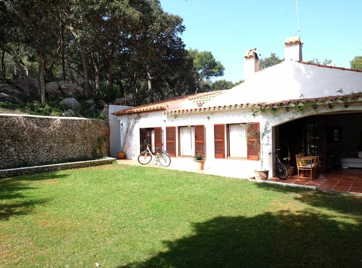 Menorca · Beautiful villa with private pool, garden & forest