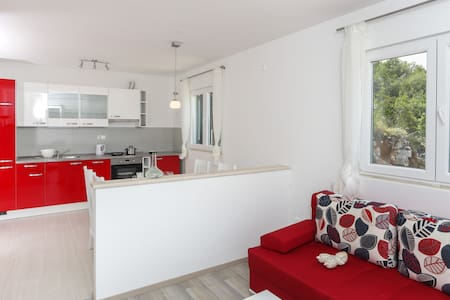 Spacious apartment ( 2+2) - ap.8 - Saplunara