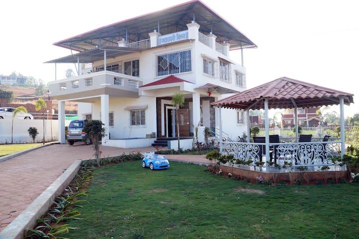 MAHALAXMI HILLS - Mahabaleshwar - Domek parterowy