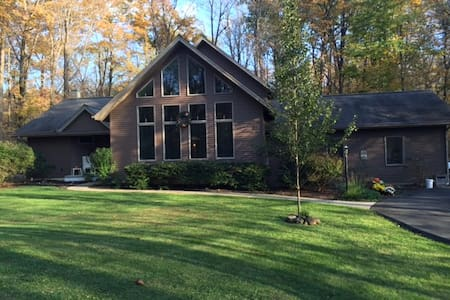 Private home surounded by nature - Kintnersville - Ház