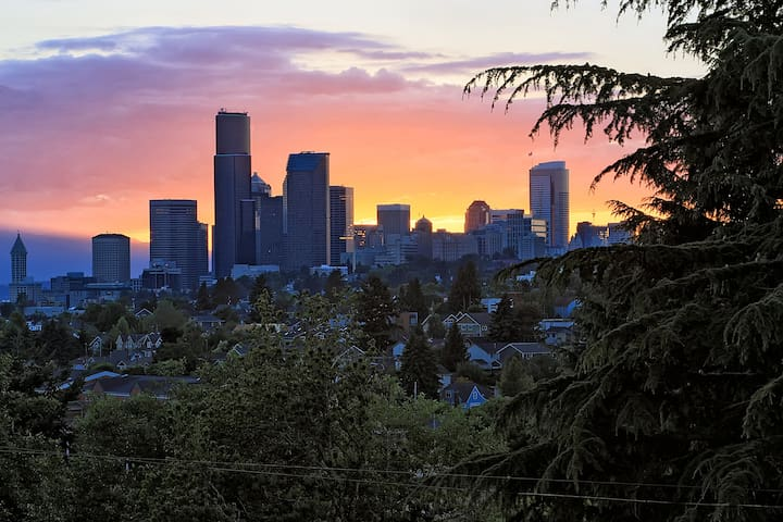 Mount Baker Modern D - Quiet View Apt - Seattle