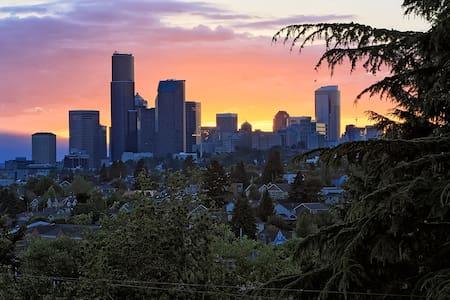 Mount Baker Modern D - Quiet View Apt - Seattle - Lakás