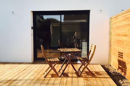 Studio Logoden, proche plage - Séné