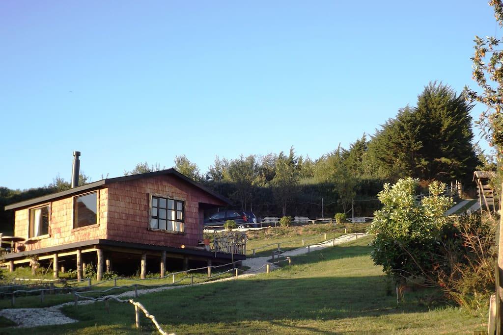 Eco cabaña keltewe