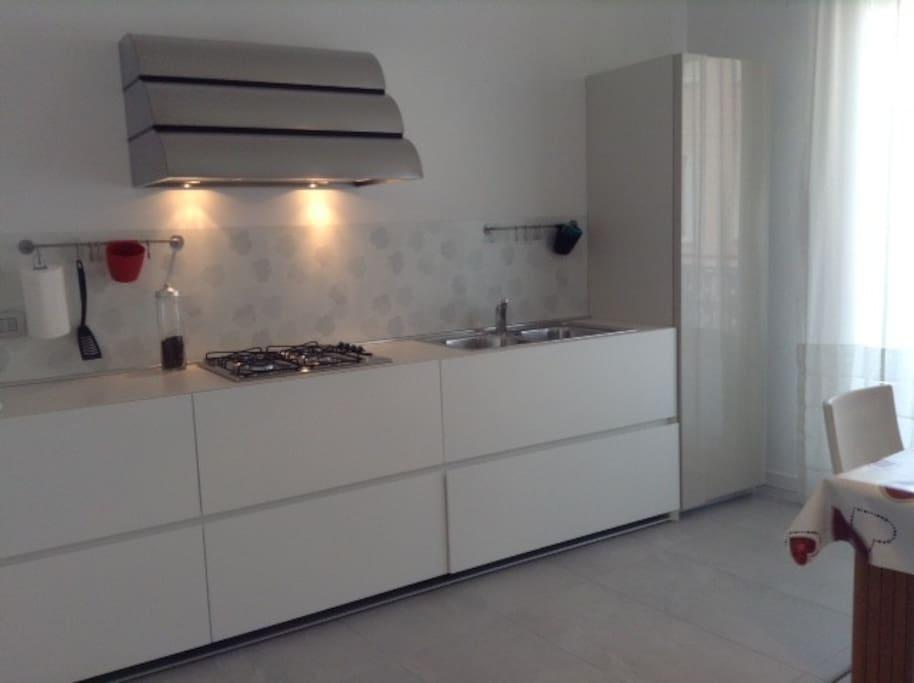 cucina minimale nuova