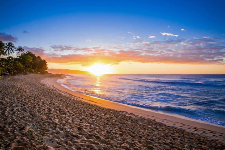 Marvelous sunsets await!