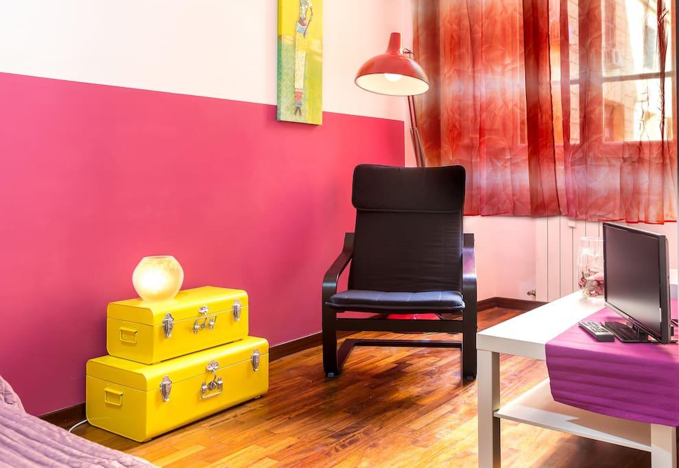 Stanza romantica e meditativa lazio for Decorazione stanza romantica