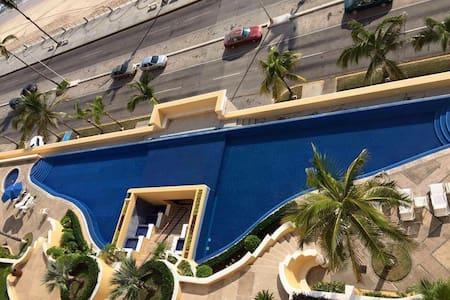 DEPARTAMENTO CON VISTA AL MAR GAVIAS - Mazatlán - Wohnung