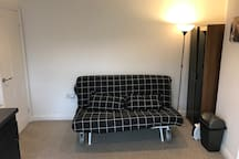 Sofa which doubles up as large sofa bed