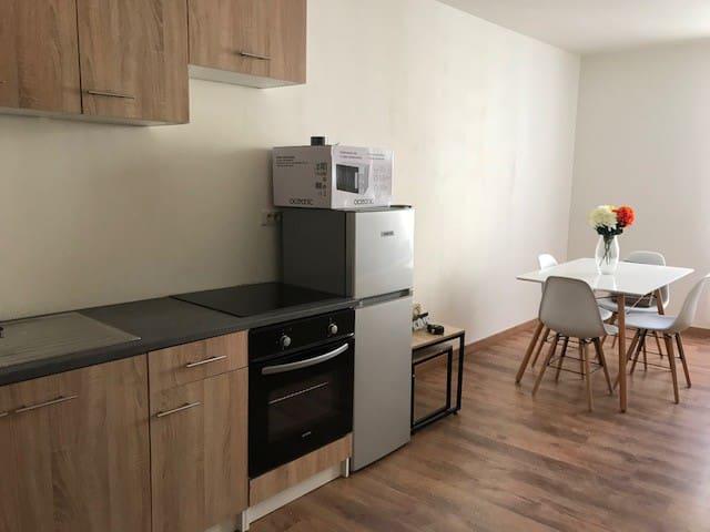 Appartement T2 centre ville Saint maximin