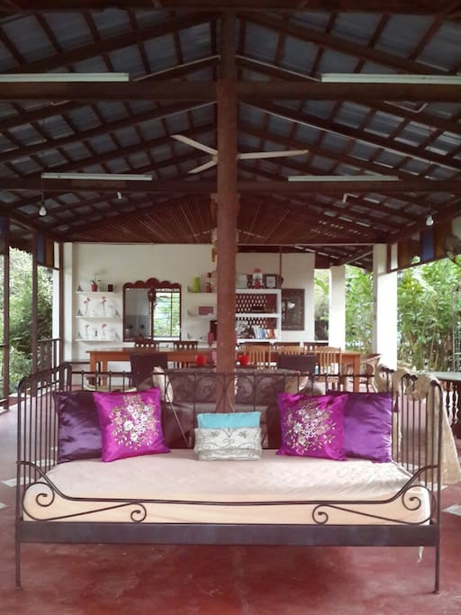 The Balai where guests can relax and socialising