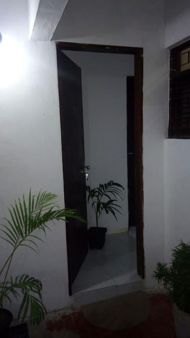 Entrada do apartamento