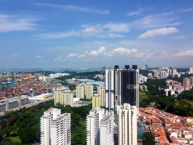 Room with amazing view and location - Singapore - Apartment