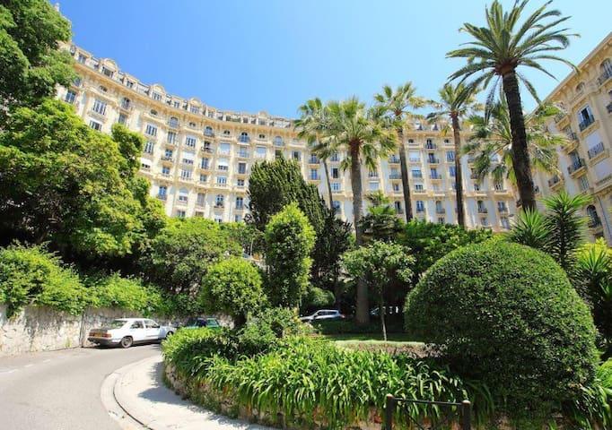 beau 4 pièces au centre de Nice, 6 personnes - Nizza - Condominio