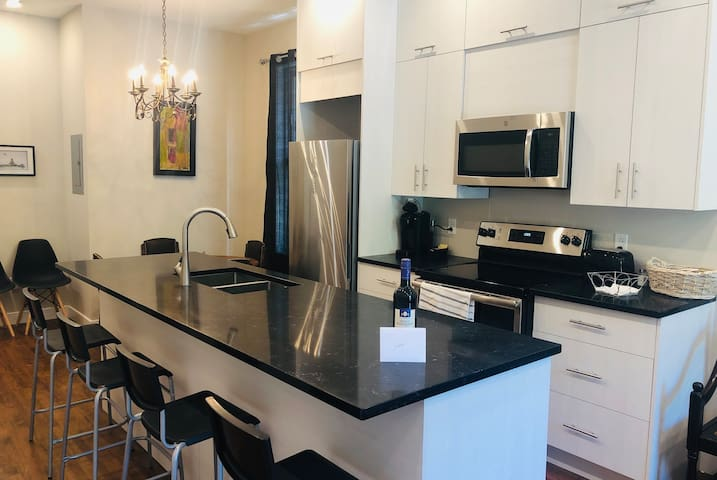 MODERN APARTMENT - CLOSE TO LA FONTAINE PARK & MONT-ROYAL STATION