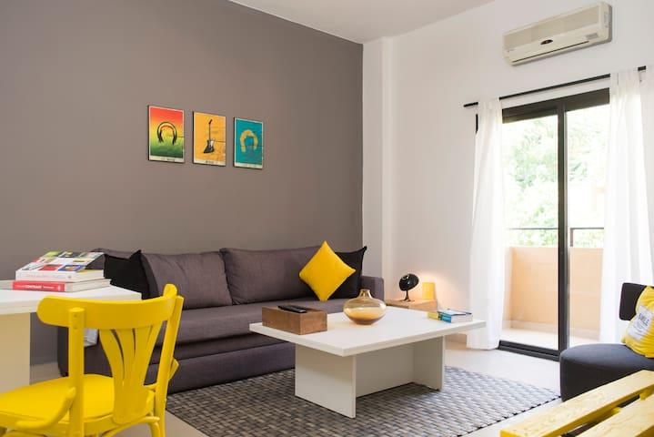 Bright Mar Mikhael Apartment (3L) - Beirut - Apartment