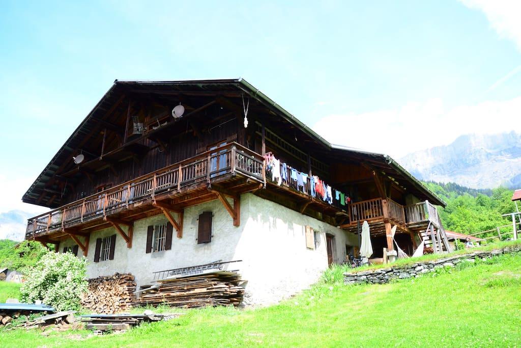 Une des plus vieilles ferme du village