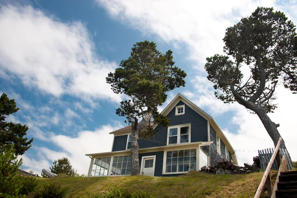 Historic Beach House In Seaside Or Houses For Rent In