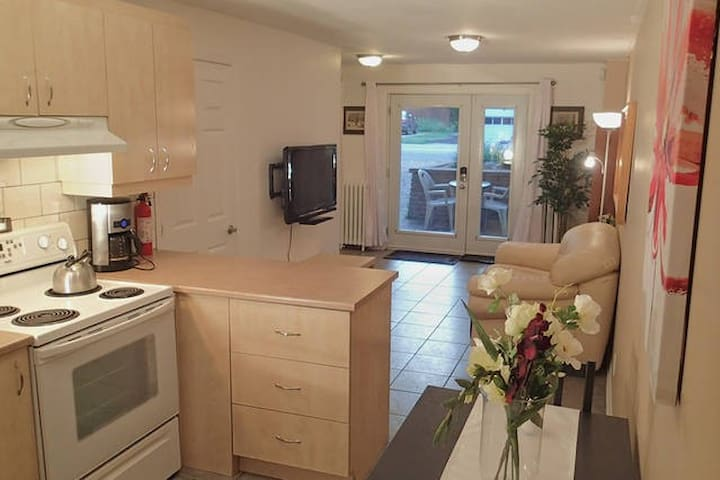Cosy full appartment in Ahuntsic - Montreal - Apartamento