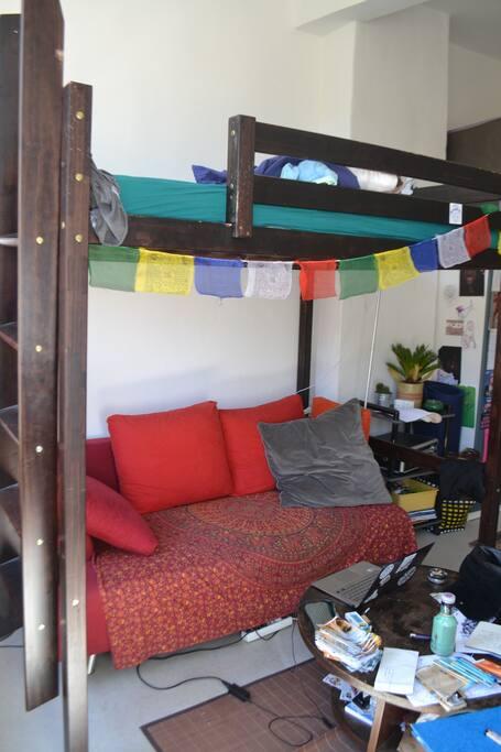 canapé et lit différent, remplacé neuf