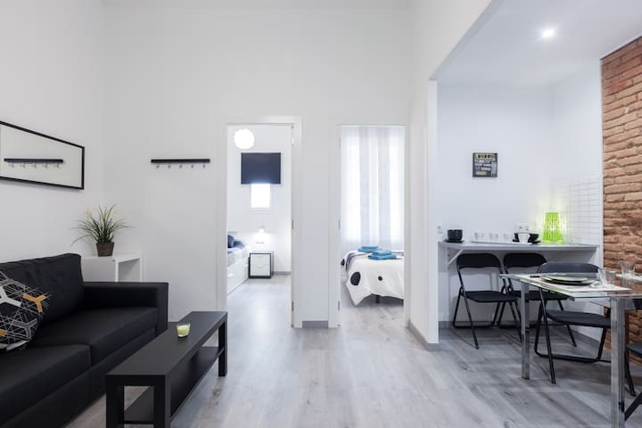 New and stylish up to 4 people - Barcelona - Apartment