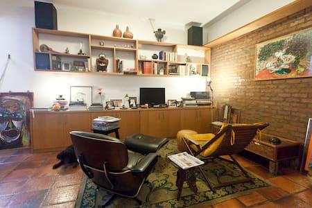Malu at Ipanema - room / whole flat - Río de Janeiro - Apartamento