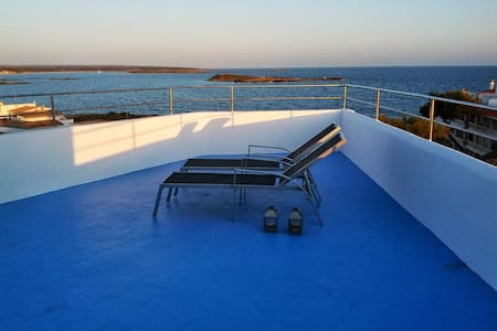 Attic in seafront with amazing view - Colònia de Sant Jordi