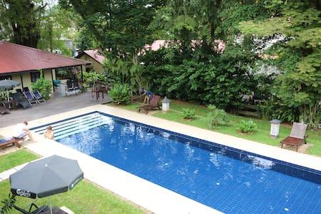 basaga holiday residences ( Verandah room for 2 ) - Kuching