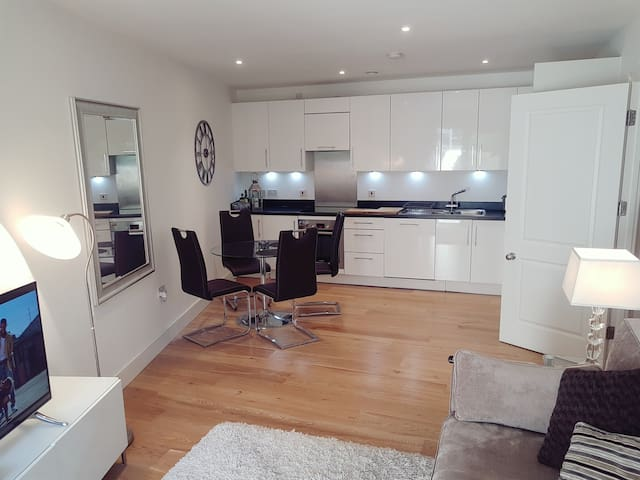 Luxury new build apartment in Putney