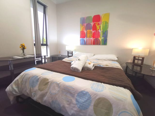 Private room for two Brisbane Gold Coast 50 min