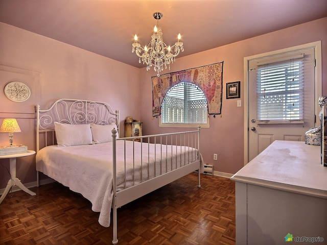 Cozy Bedroom in Beautiful Condo - Montréal - Appartement en résidence