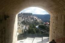 Vista su Ibla dalle scale panoramiche