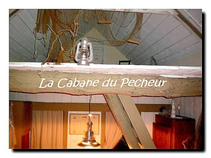 "PENTY  ""LA CABANE DU PÊCHEUR"" FINISTERE NORD"