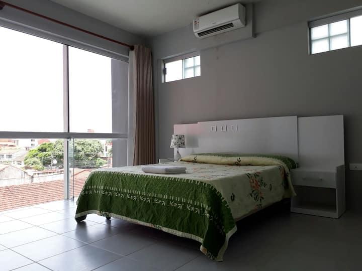 Departamento, 1 dormitorio, sala comedor, A/C, TV