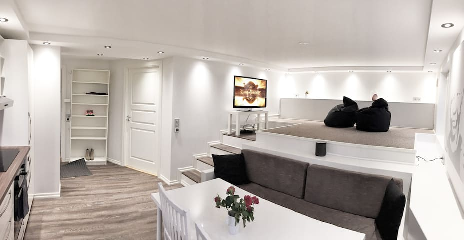 New, modern apartment with own garden - Bergen - Appartement