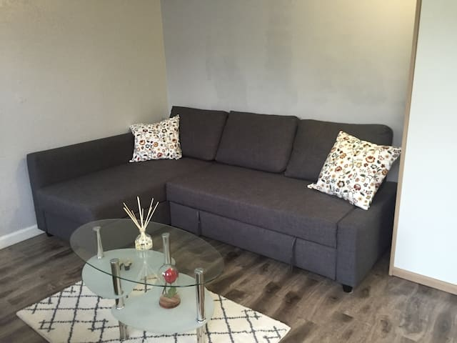 Sofa can be converted to sofabed for 2 people