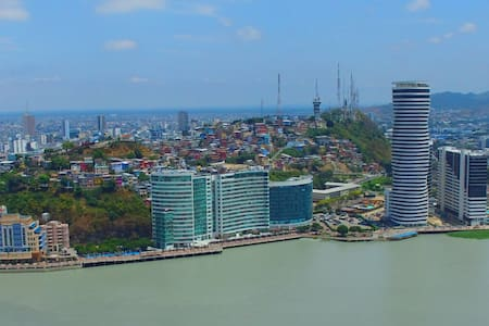 BELLINI LUXURY APARTMENT. GYM, POOL, GREAT VIEW - Guayaquil - Lägenhet