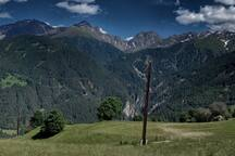 Zirmesspitze 2944 meter Sommer