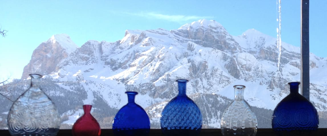 ContemporaryDesign & mountain view - Cortina d'Ampezzo