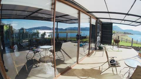 Casa frente Lago Colbun