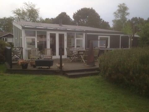 Feriehus med gratis utsikt over Begtrup Vig